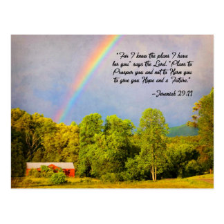 Postcard -Jeremiah 29:11...For I know the Plans...
