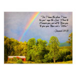Postcard - Jeremiah 29:11 For I know the Plans...