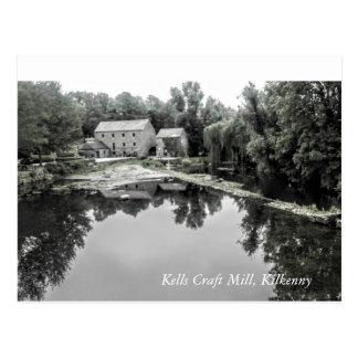 Postcard Kells Craft Mill, Kilkenny