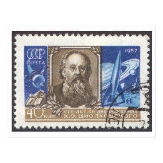 Postcard Konstantin Tsiolkovsky Russian Scientist