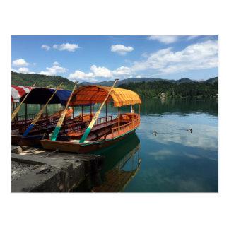 Postcard - Lake Bled, Slovenia