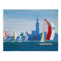 "Postcard ""Lake Michigan - Chicago"""