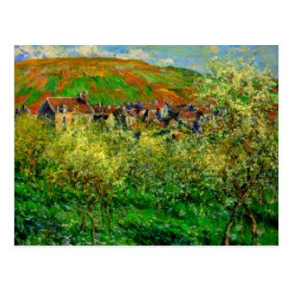 Postcard Landscape by Claude Monet France