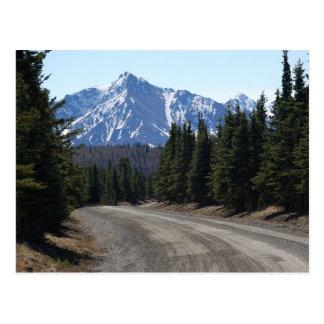 Postcard landscape in Alaska