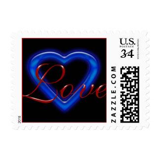 Postcard Las Vegas Save The Dates Postage Stamps