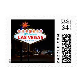 Postcard Las Vegas Weddings Save The Date Postage