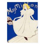 Postcard:   Lautrec - French Art - May Milton