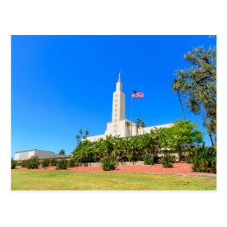 Postcard-LDS Los Angeles Temple NW Postcard