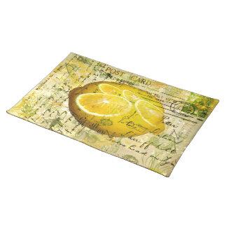 Postcard Lemons Placemat