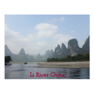 POSTCARD - Li River China