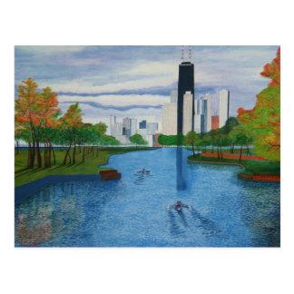 "Postcard ""Lincoln Park - Chicago"""