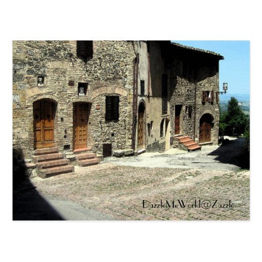 Postcard - Living in San Gimignano