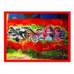 Postcard-Love Art House-Graffiti 3