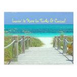 "Postcard, ""lovin' It Here In Turks & Caicos!"" Postcard at Zazzle"