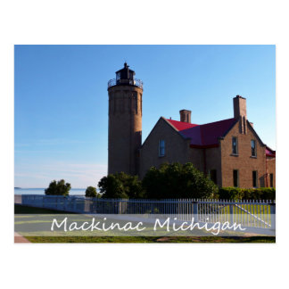 Postcard/Mackinac Lighthouse Postcard
