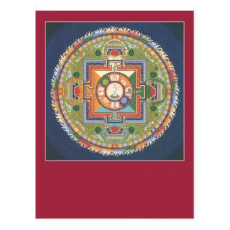 POSTCARD Mandala of Compassion (Chenrezig)