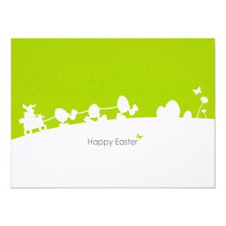 Postcard map Easter