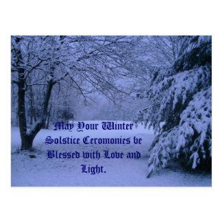 Postcard, May Your Winter Solstice Cerom...