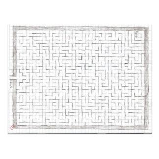 Postcard Maze 1