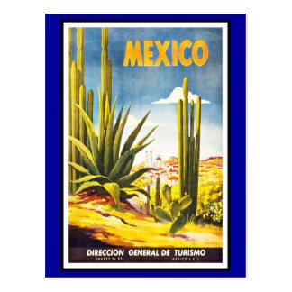 Postcard Mexico Greetings Vintage
