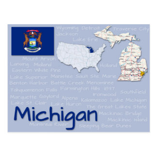 "Postcard ""Michigan"" Post Card"
