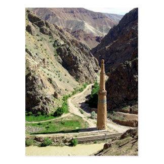 Postcard Minaret Of Jam, Afghanistan Tarjetas Postales