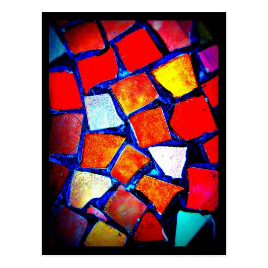 Postcard-Misc/Abstract-Mosaics 9 Postcard