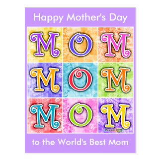 Postcard - MOM Pop Art