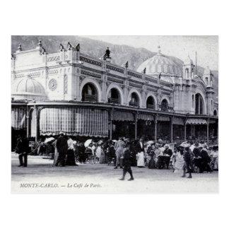 Postcard Monte Carlo Cafe de Paris