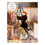 Postcard: Month of February - Février