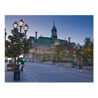 Postcard Montreal (Canada) Town Hall