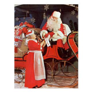 Postcard - Mrs. Santa