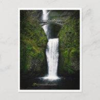 Postcard-Multnomah Falls, Oregon