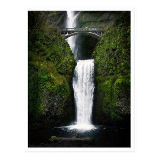 Postcard-Multnomah Falls, Oregon Postcard
