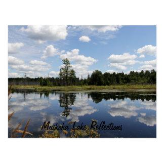Postcard - Muskoka Lake Reflections
