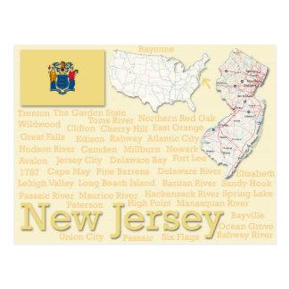 "Postcard ""New Jersey"""