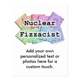 Postcard - NUCLEAR FIZZACIST