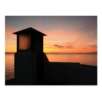 Postcard of Burghead Pier