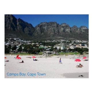 Postcard of Camps Bay Beach, Cape Town