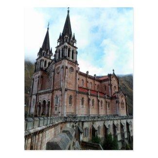 Postcard of Covadonga (Asturias)