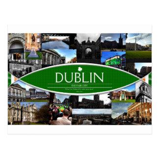 Postcard of Dublin
