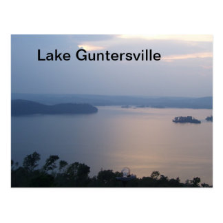 Postcard of Lake Guntersville