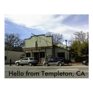 Postcard of McPhees-Grill-Templeton, CA