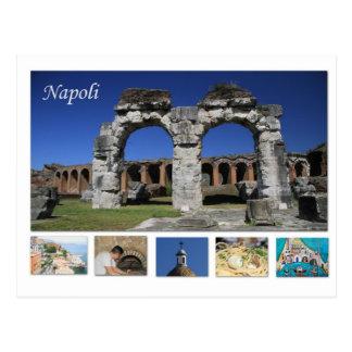Postcard of Napoli, Italy