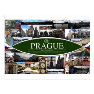 Postcard of Prague