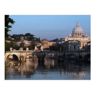 Postcard of Rome, Italy