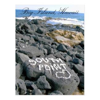 Postcard of Southpoint, Big Island, Hawaii