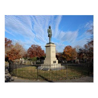 Postcard of Stonewall Jackson's Monument