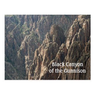 Postcard of the Black Canyon of the Gunnison