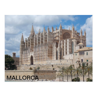 postcard of the Cathedral of Palma de Mallorca